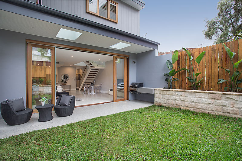 Figtree Avenue, Randwick - Backyard
